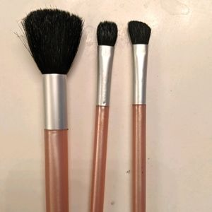 3 piece Eye & Face Mary Kay Travel Makeup Brushes